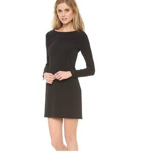 Theory Black Mimi W mini dress black 4